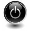 Power Button Symbol Icon image #8357