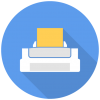 Printer Icon | Free Flat Multimedia Iconset | DesignBolts image #1015