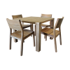 Pure Dining Table And Mistra Side Chairs image #41430