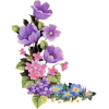 High Resolution Purple Flower  Clipart image #6232