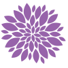 Transparent Purple Flower image #6238