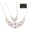Purple Gem Silver Necklace image #45128
