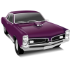 Purple Vintage Cars image #33034