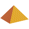 Vector Pyramid Drawing image #13842