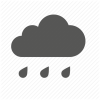 Icon Cloud Rain Library image #11042
