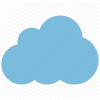 Svg Cloud Rain Icon image #11044