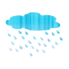Cloud Rain  Vector Free Download image #11055