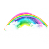 Real Rainbow, Clouds, Lights,effect, Rainbow thumbnail 7010