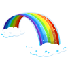Rainbow Decoration Clouds image #6997