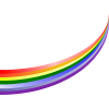 Rainbow Curved image #6998
