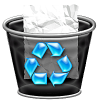 Symbol Recycle Bin Icon image #16261