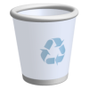 Recycle Bin Free Svg image #16271