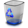 Vector Recycle Bin Icon image #16272