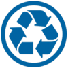 Recycle Blue Icon image #4209