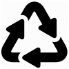 Recycle, Recycling Icon image #4196
