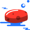 Red, Blue, Soap Icon image #42912