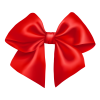 Red Bow PNG Transparent image #42241