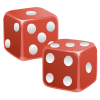 Red Dice  Transparent Image  Pix image #41775