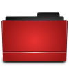 Red Folder, Directory Icon image #12389