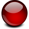 Red Glossy Ball image #26215