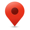 Red Location, Map Pin Icon image #4226