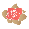 Red Rose Flower Icon image #34265