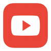 Red Youtube Logo Icon image #42009