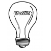 Repainted Light Bulb, Light Bulbs, Ink Drawing thumbnail 48998