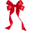 Ribbon Red Bow Png image #42259