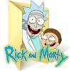 Rick And Morty Beige Folder Icon image #43801