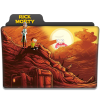 Rick And Morty Folder Icon image #43805