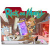 Rick And Morty Red Folder Icon image #43802