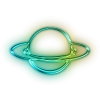 Rings Of Planet Saturn Icon image #7367