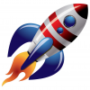 Free Rocket Ship Vector  Download image #30443