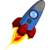 Background Rocket Ship Hd Transparent thumbnail 30456