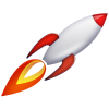 Transparent  Rocket Ship thumbnail 30451