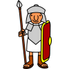 Icon Roman Soldier Vector image #14639