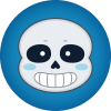 Sans Undertale Drawing Icon image #35525