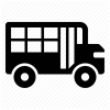 Free School Bus Icon Image thumbnail 23302