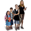 Download School Children  Clipart image #28313