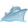 Ship Travel Cruise Tourism Travel Icon  Ship  Ship Icon thumbnail 357
