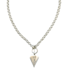 Silver Necklace For Women And Girls image #45146