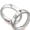 Silver Wedding Rings Transparent Background image #45278