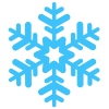 Simple Blue Snowflakes image #41265