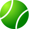 Simple Green Tennis Ball image #43465