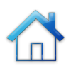 Simple Home Shape With Solid Roof Outline Icon #078552 » Icons Etc image #1945