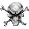 Transparent Skull And Crossbones Background thumbnail 27262