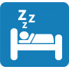 Sleep Vector Icon image #15523