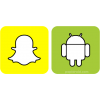 Snapchat And Android Logo  Images image #46439