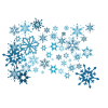 Transparent Image  Snowflakes image #41264